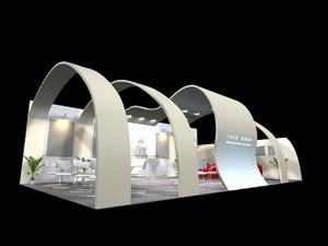 国外大型展厅设计效果图