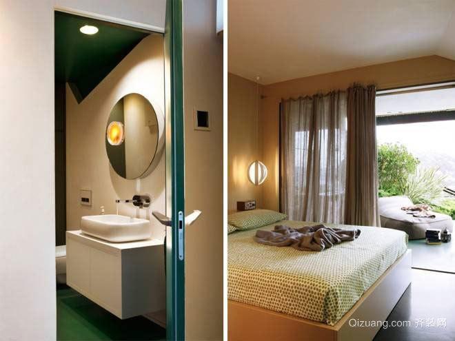 65平混搭一居装修风格效果图