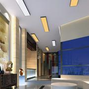 时尚风格大厅吊顶图片