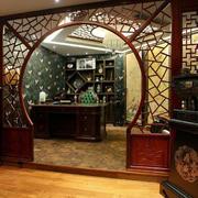 古典风格客厅隔断图片