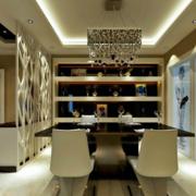 中式风格酒柜装修图片