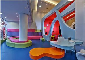 高档幼儿园室内设计装修效果图