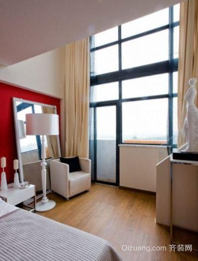 现代简约风格宜家玻璃幕墙装修效果图