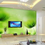 清新型电视背景墙