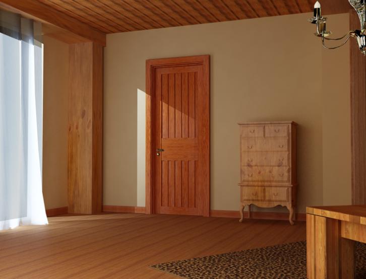 单身公寓宜家客厅tata木门装修效果图