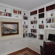 简约风格书房装修图片