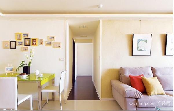 现代简约美式沙发背景墙效果图