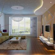 精致的客厅设计整体图