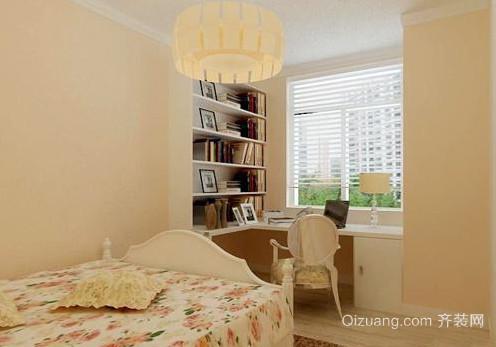 100平米现代简约儿童房兼书房装修效果图