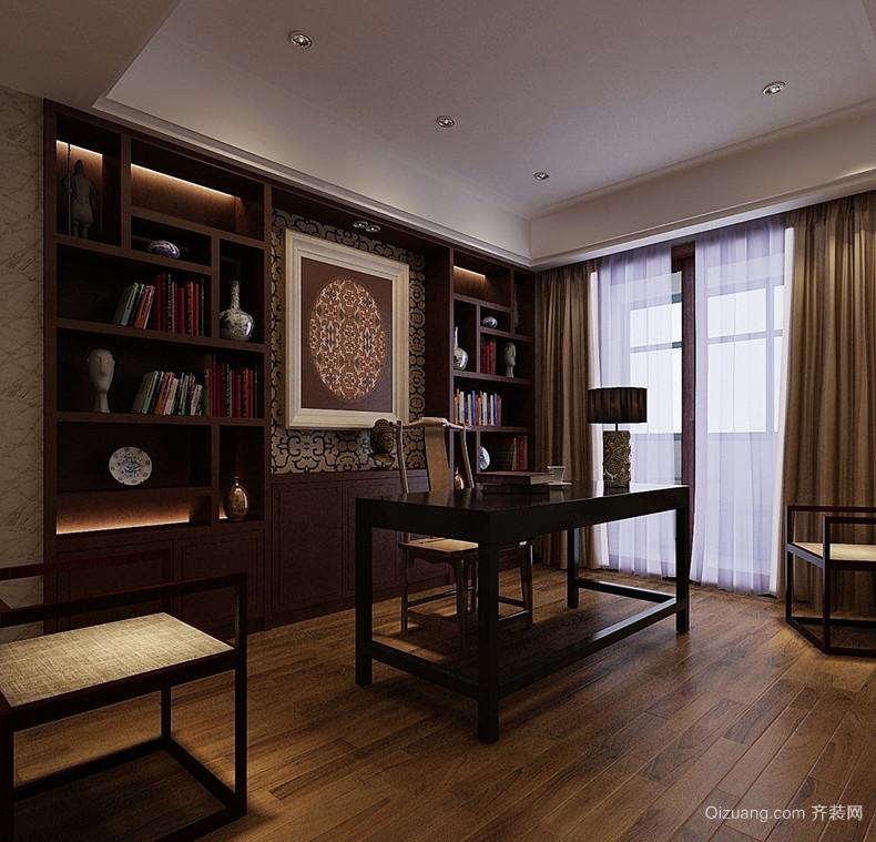 古典中式书房装修效果图