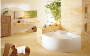 新房浴室地板砖装修效果图
