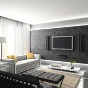 客厅设计飘窗图