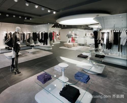 小型服装店韩式风格装修图