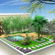 现代花园造型图设计