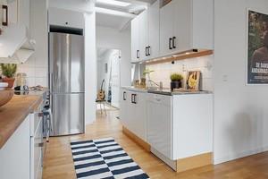 北欧厨房设计装修效果图