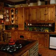 厨房设计灯光搭配