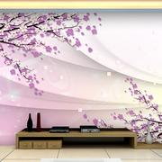 唯美的背景墙整体设计