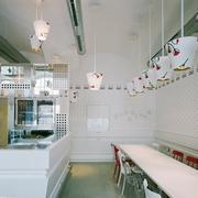 奶茶店设计吊顶图