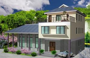中国新农村房屋结构设计图