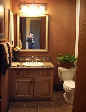 美式小卫生间装修效果图