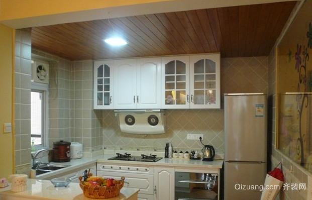 简欧风格餐厅厨房装修设计效果图