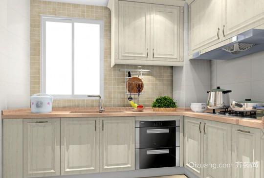 2015欧式简约厨房装修效果图大全