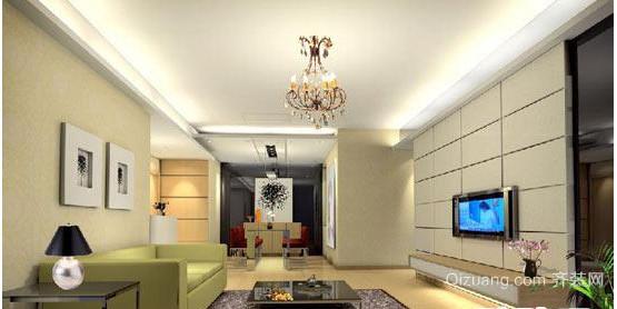 中小户中式客厅装修效果图