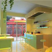 奶茶店设计模板