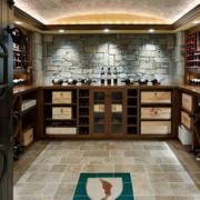 现代酒柜设计整体图