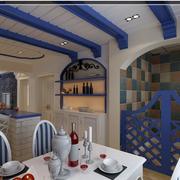 餐厅设计唯美图