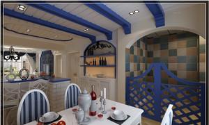 地中海特色餐厅装修效果图
