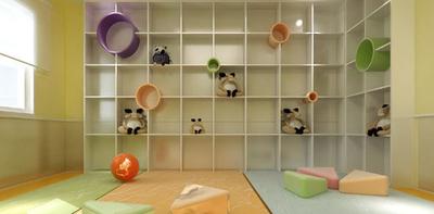 2015现代风格幼儿园教室布置设计装修效果图