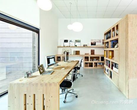 北欧风格办公室装修设计图