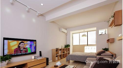 日式单身公寓装修效果图