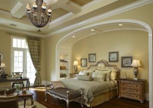 别墅法式精致奢华卧室装修效果图