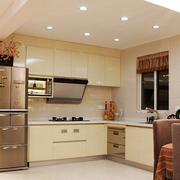 精致的厨房灯光设计