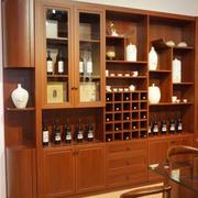 唯美的现代酒柜造型图