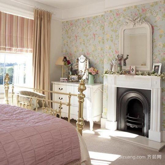 两室一厅法式田园豪华别墅卧室