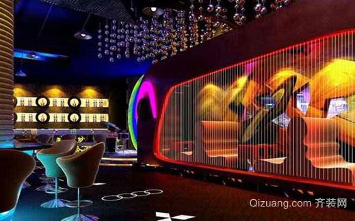 2015现代风格特色小酒吧装修效果图