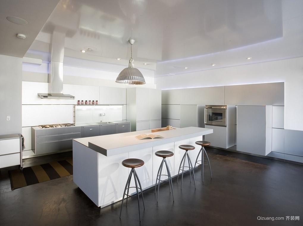 100平米欧式开放式厨房装修效果图