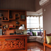 现代室内背景墙造型图