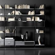 书房设计背景墙图