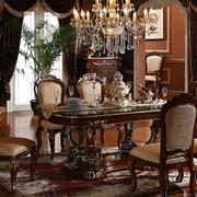 精致的现代餐桌椅设计