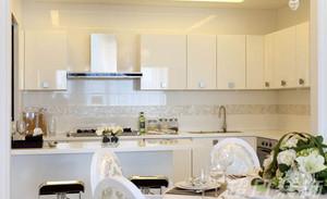 70㎡小户型简约范儿欧式风格厨房设计装修效果图