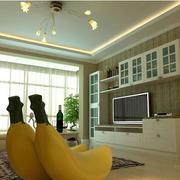 客厅设计窗帘造型