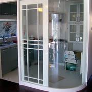 唯美的厨房门设计