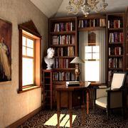 现代书房整体设计