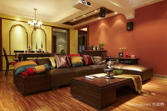 风情浪漫的东南亚客厅装修效果图
