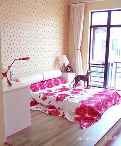 2015最流行新款卧室家装榻榻米床装修效果图