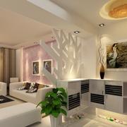 精致的客厅吊顶设计
